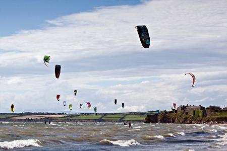 Hooked Kitefest, Kitesurfing Festival, Duncannon Co. Wexford