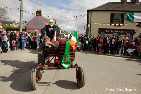 St. Patrick's Day Parade, Duncannon Co. Wexford