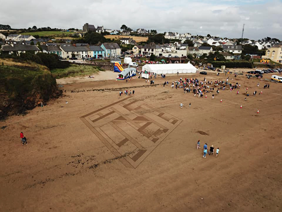 Thank You from Duncannon Sand Sculpting Festival