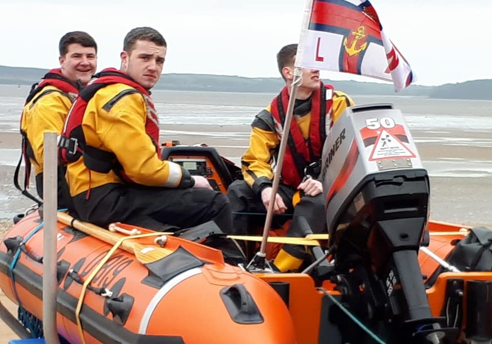 Fethard Lifeboat Crew at the St. Patirck's Day Parade, Duncannon