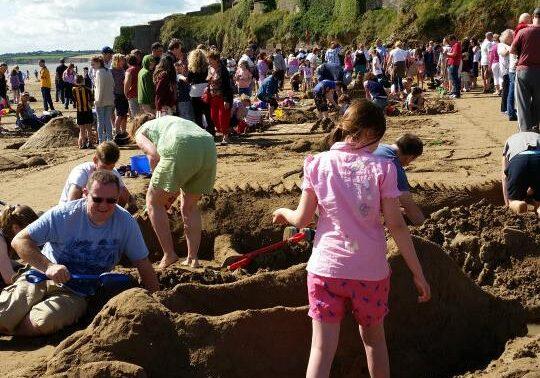 Fun at Duncannon Sandsculpting Festival