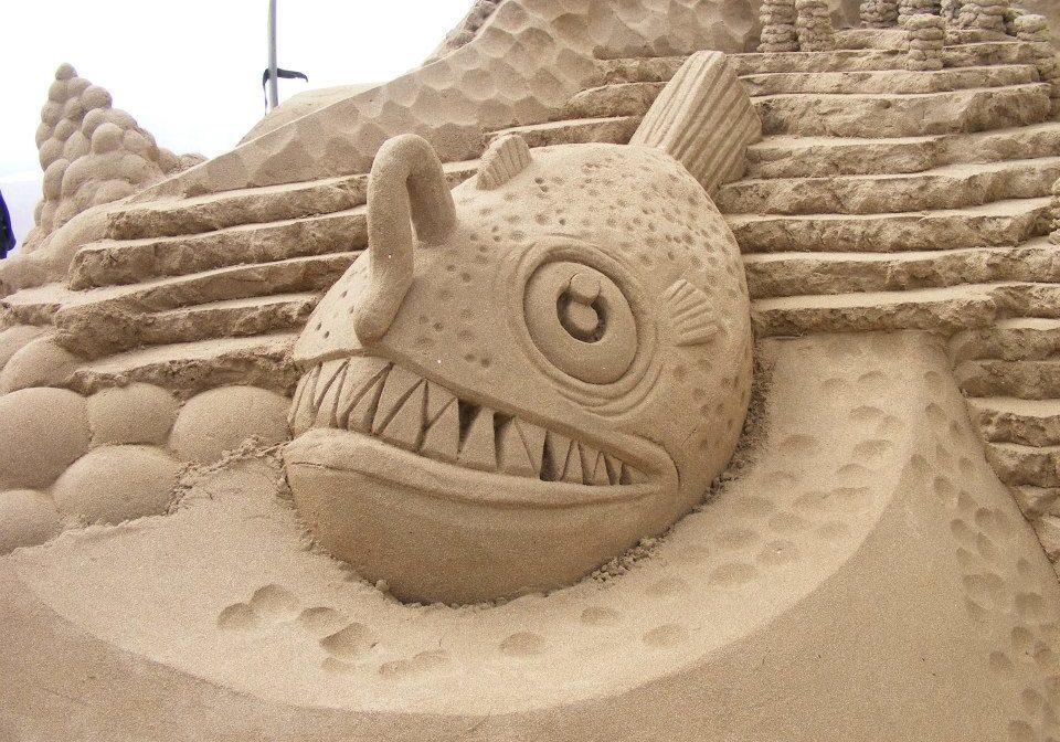 Sand Sculptures at Duncannon Sandsculpting Festival