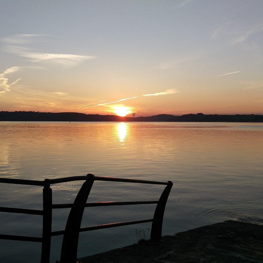 Sunset on Duncannon Harbour Wexford